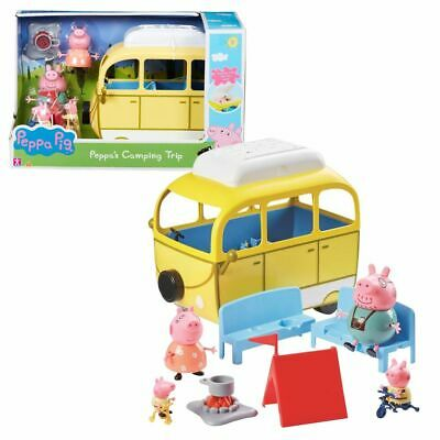 Camper with Tent Camping-Bus Play Set Peppa Pig Peppa Pig