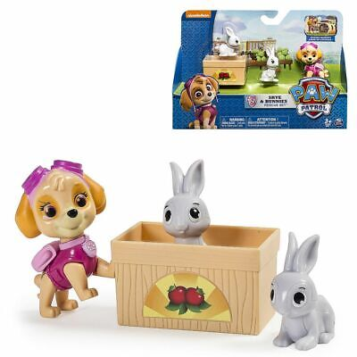 Skye and the Rabbit Paw Patrol Set Game Figurines Sale Pack