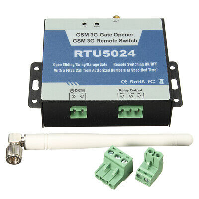 Gate Door Opener Remote Controller Relay Switch Senders GSM Dial Control SMS