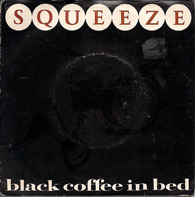"""Squeeze Black Coffee In Bed UK 45 7"""" single +Picture Sleeve +The Hunt"""