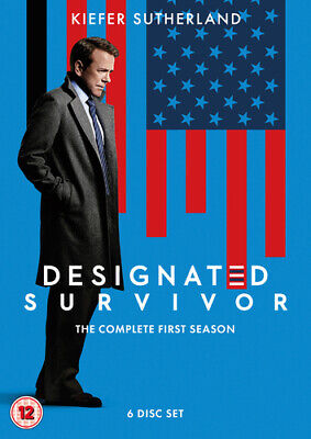 Designated Survivor: The Complete First Season DVD (2017) Kiefer Sutherland