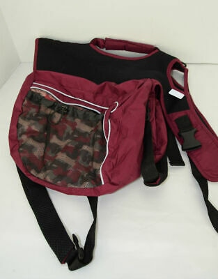 Outward Hounds Burgundy Camo Day Pack Backpack Sz