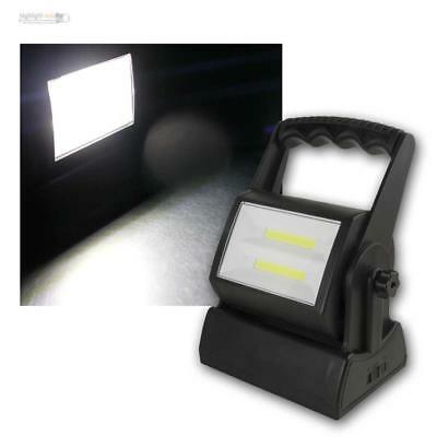 Work Light,6w Cob LED 240lm,Mobile Spotlight Battery Operation,Construction