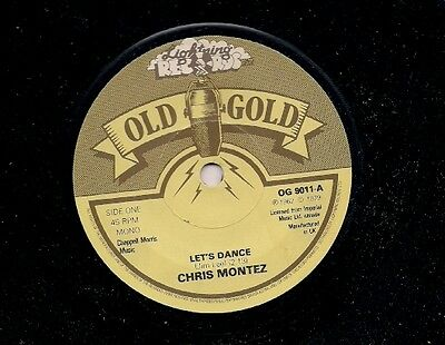 "Chris Montez Let's Dance UK 45 7"" single +Lonnie Mack - Memphis"
