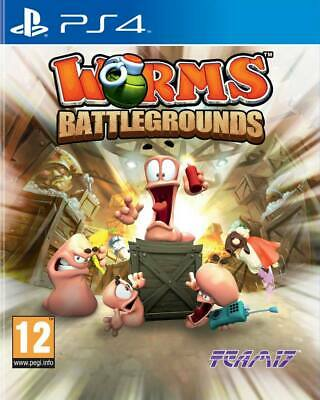 Worms Battlegrounds (PS4)  BRAND NEW AND SEALED - IN STOCK - QUICK DISPATCH