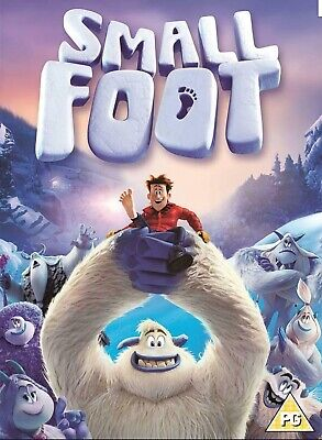 small foot dvd new sealed