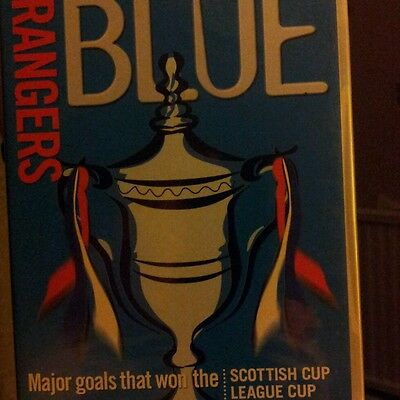 Glasgow Rangers BLUE  - BRAND NEW FACTORY SEALED R2 dvd DELETED