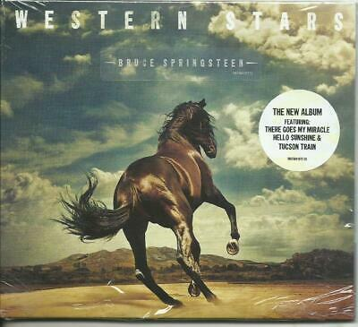 BRUCE SPRINGSTEEN  - Western stars  (2019) CD digipack