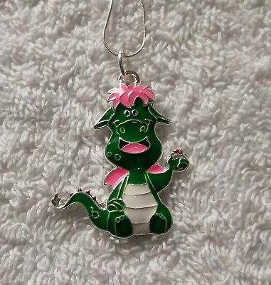 PETE's DRAGON Inspired Large Charm NECKLACE B