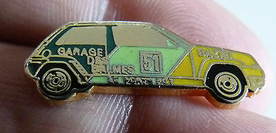 Rare Pin's Voiture Rallye Renault Super 5 Gt Turbo Egf
