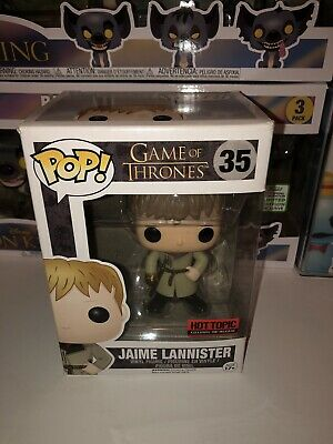 Funko Pop Game Of Thrones Jaime Lannister in Protector Case Hot Topic Exclusive