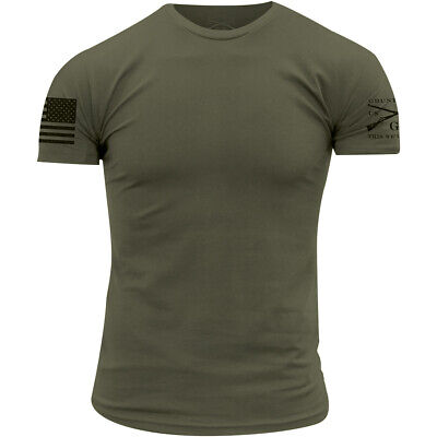 Grunt Style Basic Crewneck T-Shirt - Military Green