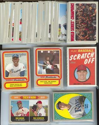 2019 Topps Heritage Baseball - Master Set - 585 cards - with SP's & Insert sets