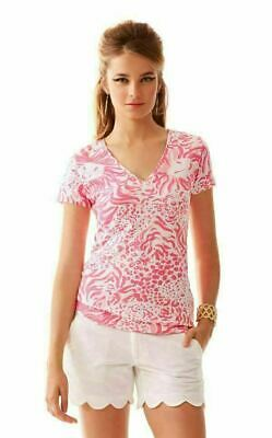 e442dd611a7b07 NEW LILLY PULITZER Michele Top Tee Going Coastal Reduced Wmns Medium ...