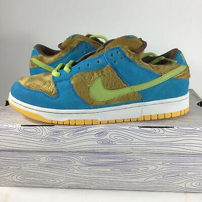 8ec1702a4038ea 2006 ULTRA RARE FTSS SAMPLE Nike Dunk Low SB 3 Bears 313170731 Size ...