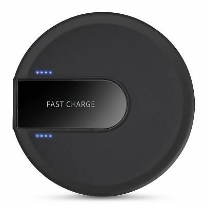 Chargeur Sans Fil  Induction Qi 10W Universel Rapide Wireless Charger Pad