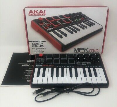 AKAI MPK Mini MK2 Keyboard Synthesizer