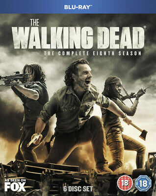 The Walking Dead: The Complete Eighth Season DVD (2018) Andrew Lincoln