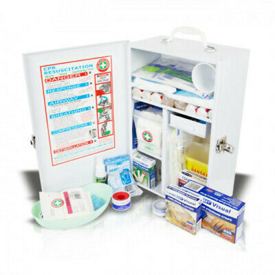 Wall-Mount Food Industry Compliant First Aid Kit (Large)
