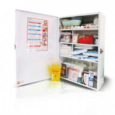 Workplace Large Wallmount First Aid Kit (High Risk)
