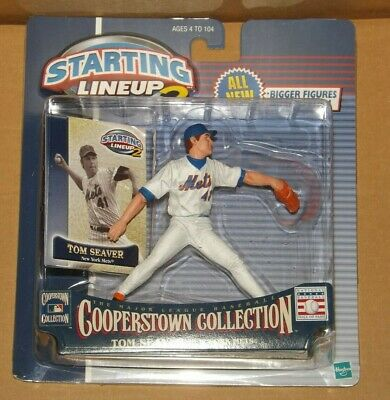 "1998  TOM SEAVER /""COOPERSTOWN/"" NEW YORK METS Starting Lineup Card"