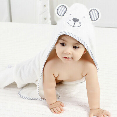 Soft Hooded Baby Towel Baby Bath Towel Baby Bamboo Towel (Various Design/Color)