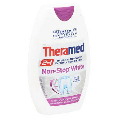 Theramed Tandpasta - 2 In 1 Non-Stop White 75 ml