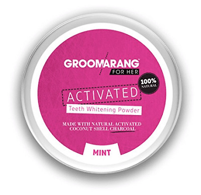 Groomarang Activated Whitening Tanden Poeder - For Her 50g