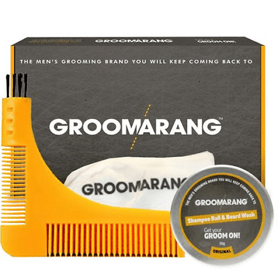 Groomarang The Pro Collection - Baardkam, baardshampoo, beard Catcher
