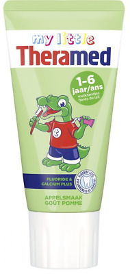 Theramed Junior Tandpasta Appel 1-6 Jaar - 50 ml
