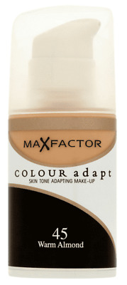 Max Factor Foundation - Colour Adapt 45 Warm Almond