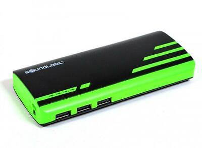 Soundlogic Powerbank - 9000mAh Zwart/Groen