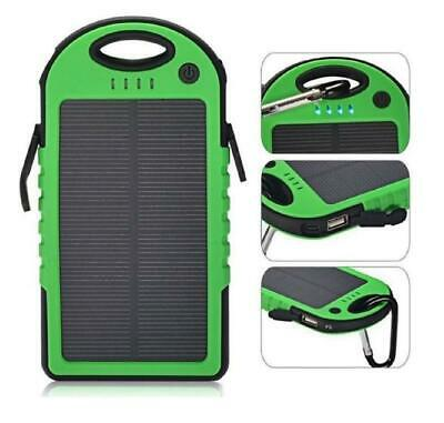 Soundlogic Solar Powerbank - 5000mAh Groen