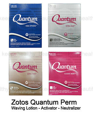 Zotos Quantum Perm Lotion Activator Neutralizing set