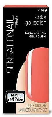 Sensationail Gel Polish - Coral Sunset - 7.39 ml