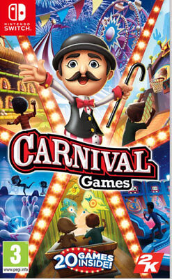 Carnival Games (Switch)  BRAND NEW AND SEALED - IN STOCK - QUICK DISPATCH