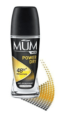 Mum Deoroller For Men - Power Dry 50ml