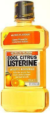 Listerine Mondwater Cool Citrus 250 mL