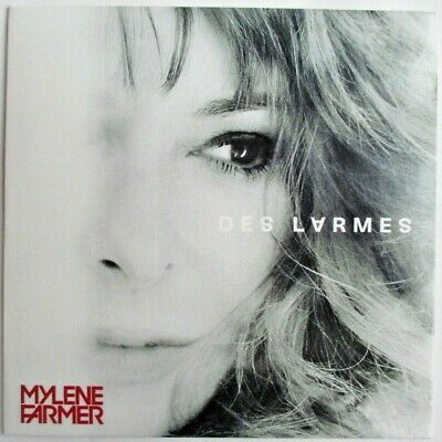 "Mylène Farmer - Cd Single Promo ""Des Larmes"" (Radio Edit)"