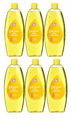 Johnson & Johnson Baby Shampoo 750 Ml (25.4 Oz) (6 Pack)