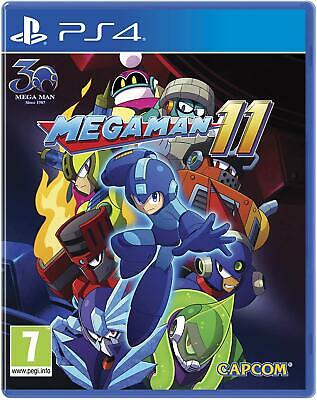 Megaman 11 For PS4 (New & Sealed)
