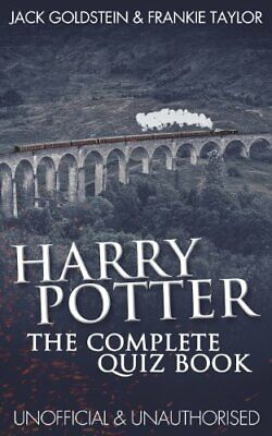 Harry Potter - The Complete Quiz Book, Goldstein, Taylor 9781783337309 New..