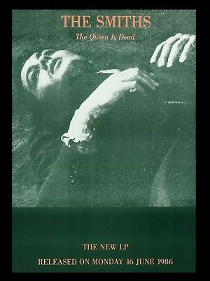 """The Smiths Queen is Dead 16"""" x 12"""" Repro Promo  Poster"""