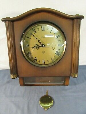 Vintage Linden Friedrich Mauthe 8 Day Westminster Chime Wall Clock