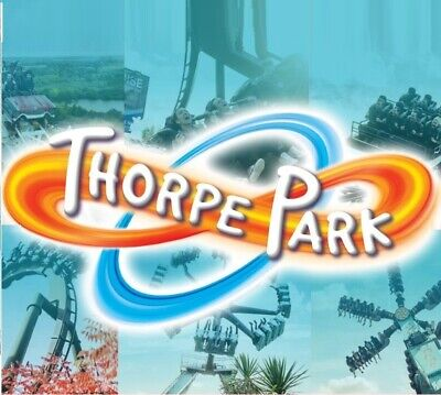 2 X Thorpe  Park Tickets  -  All 9 Sun Savers Codes Pick Up Your Date