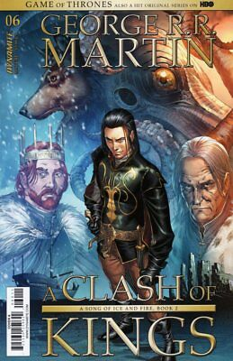Game Of Thrones Clash Of Kings #6 Copertura a Fumetto 2017 - Dynamite