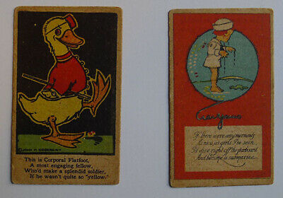 1919 J.H. Eggers Confectionery Lot of 2 different Original coupon