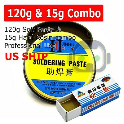 120g + 15G Rosin Soldering Flux Paste Solder Welding Grease Cream for Phone PCB
