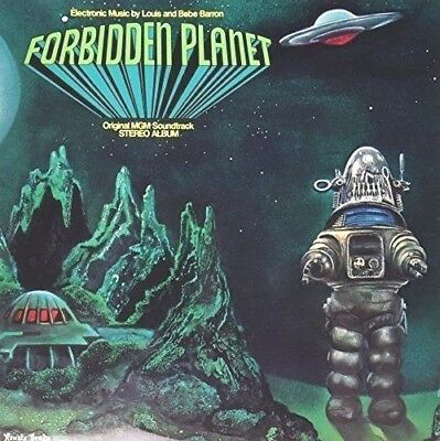 Forbidden Planet - Soundtrack - Louis & Bebe Barron NEW SEALED electronic pionee
