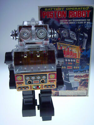"GSR ""PISTON ROBOT"" SH HORIKAWA MADE IN JAPAN, 25cm, BO OK, NEW/NEU/NEUF IN BOX"